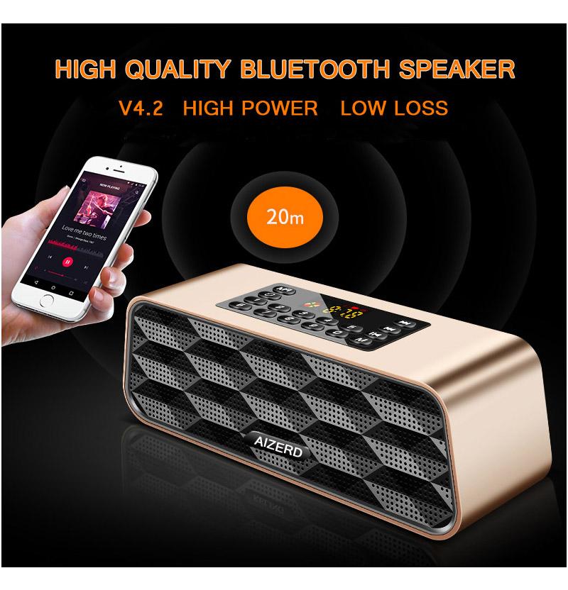F6 Portable Bluetooth Speaker