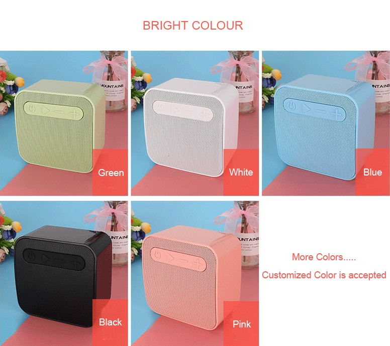 G16 bright shell high quality 3W speaker