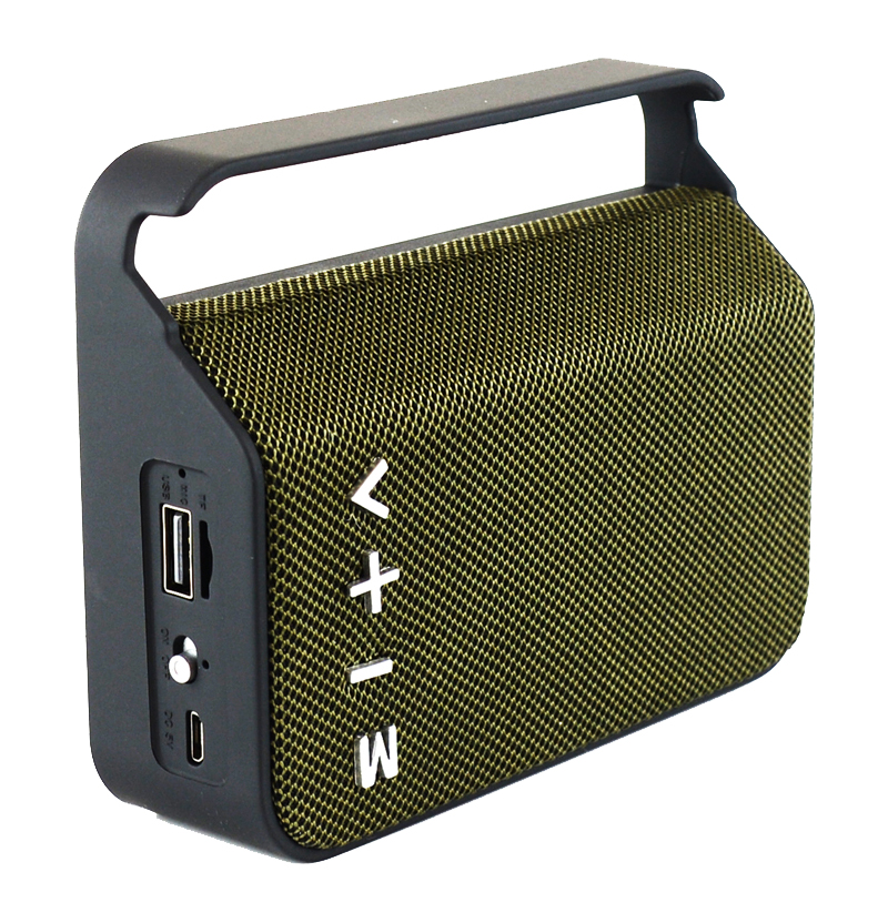 Cheaper Bluetooth Cloth Speaker with TF card, FM,AUX,USB