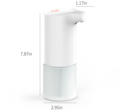 touchless automatic induction foam soap dispenser